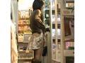 【パンチラ】私服J● 店長にその場でスカートまくり上げられて下着写真を撮られる【隠し撮り】[TJS001-6+7]
